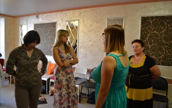 C тренинга Анны Евстратовой (Семья-плюс)