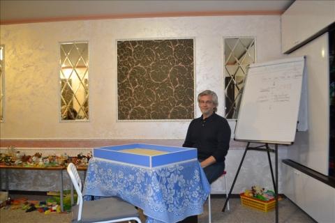 Фотоотчет о прошедшем семинаре по Юнгианской песочной терапии. Ведущий Сергей Зелинский
